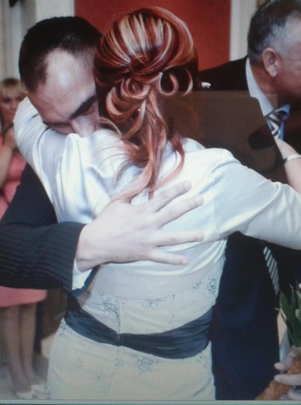 Török Szabolcs az esküvőjén édesanyjával. Mintha új életre ké- szült volna
