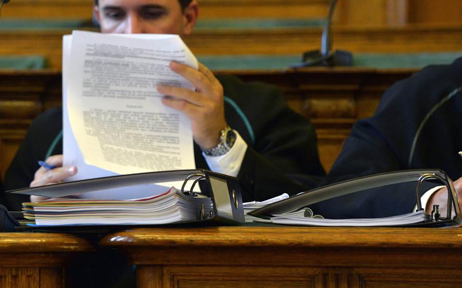 Az ítélkező fórumok megfelelően felkészültek a jelentős számú ügy kezelésére Fotó: Havran Zoltán