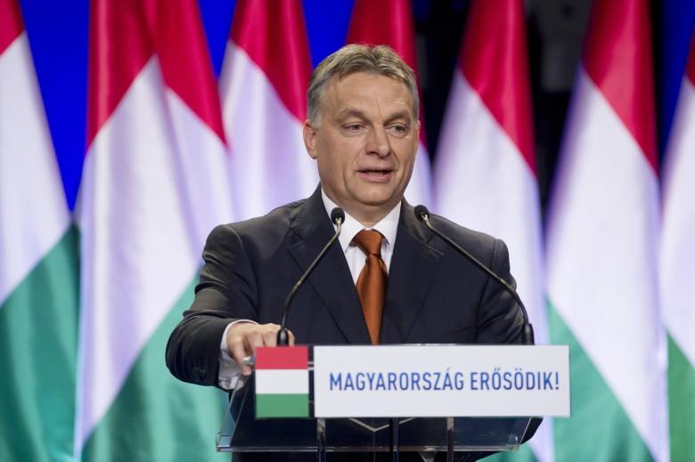Orbán Viktor miniszterelnök tavaly is a Várkert Bazárban tartotta az évértékelő beszédét