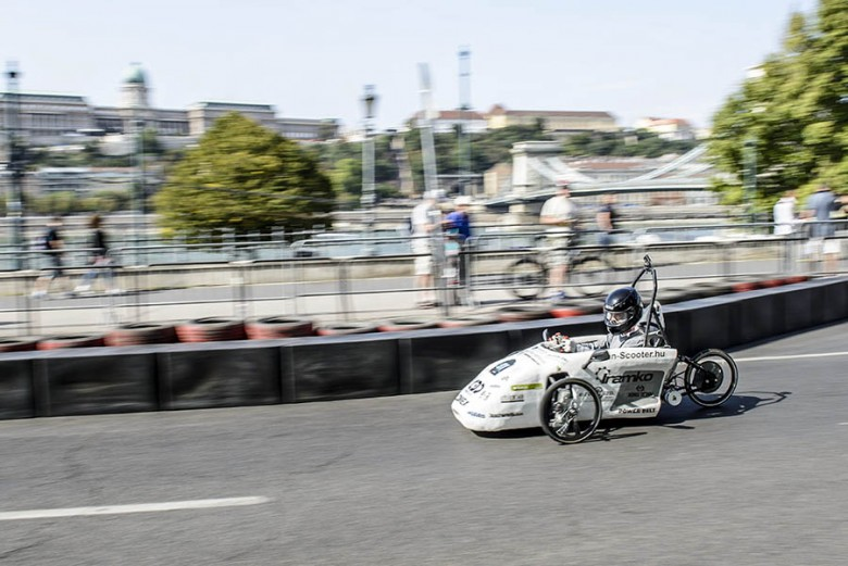 Az MVM az alternatív hajtású járművek versenyét is szponzorálja
