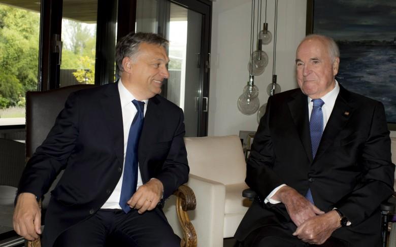 A miniszterelnök 2014-ben is találkozott az exkancellárral