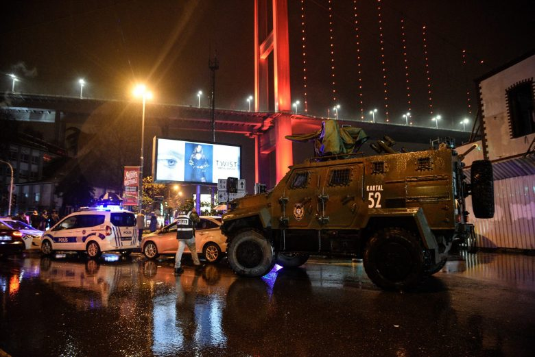 Gun attack at a night club in Istanbul