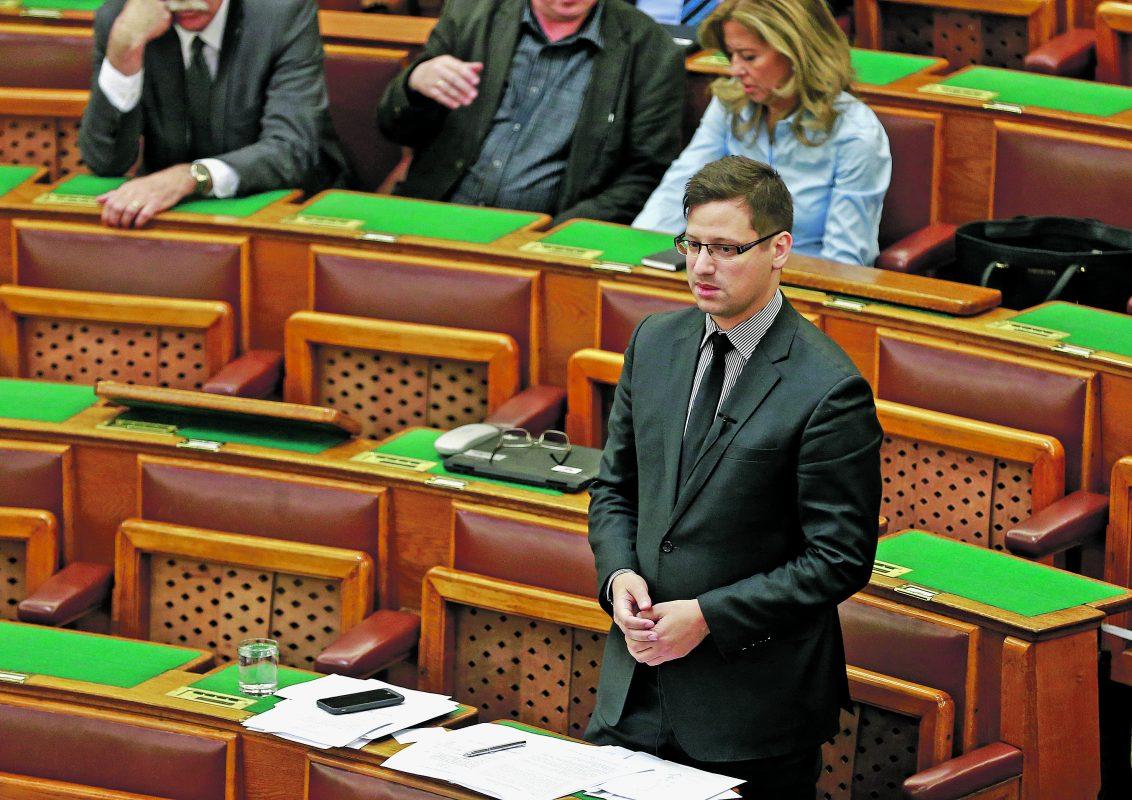 Gulyás Gergely a Fidesz új frakcióvezetője
