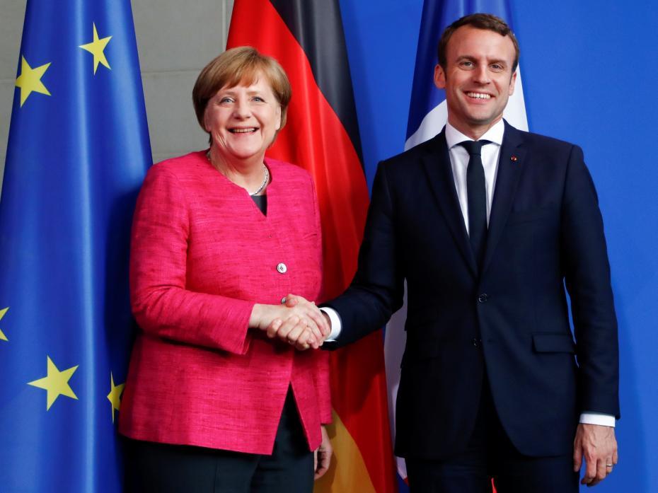 Merkel és Macron közös taktikája