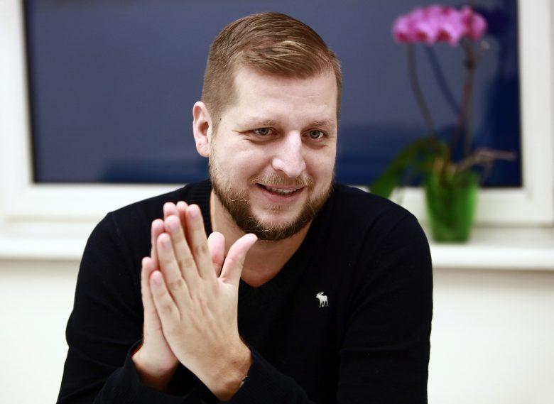 Kaprinay Zoltán, a Bónusz Brigád társtulajdonosa