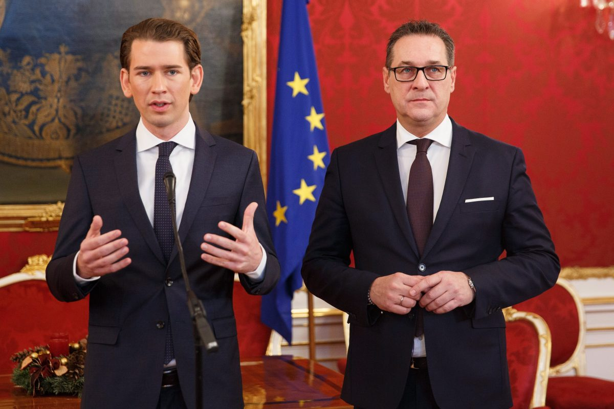 Megszületett a megállapodás az ÖVP-FPÖ koalícióról