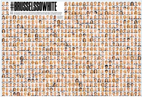 Rasszista Brüsszel: a sötétbőrüek az EU-ban a vécét pucolják