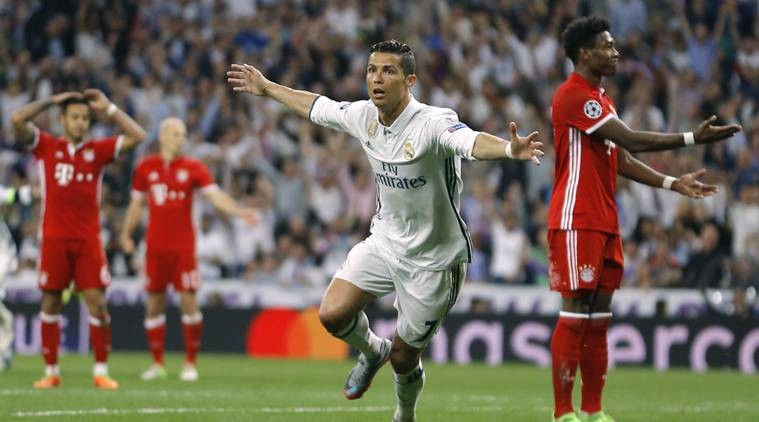 Az előző kiírás negyeddöntőjében Ronaldo a két meccsen öt gólt lőtt a bajoroknak
